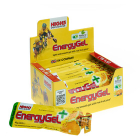 High5 EnergyGel Plus Box 20x40g Orange
